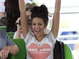 "Michelle Keegan at Drayton Manor in ""Are you my boyfriend or not?"" T-shirt"