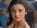 Alia Bhatt says it was a pressure to face the camera for the first time.
