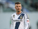 David Beckham confirms he will leave LA Galaxy after MLS Cup Final in December.