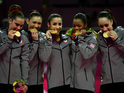 "The Fierce Five members both say they'd ""definitely"" compete on ABC series."