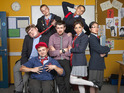 Watch a clip from the new school-based BBC Three sitcom .