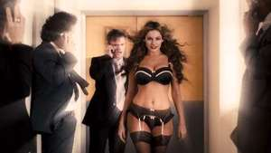 Kelly Brook in lingerie for 'Keith Lemon The Film'
