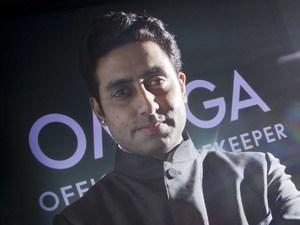 Abhishek Bachchan - OMEGA ambassador