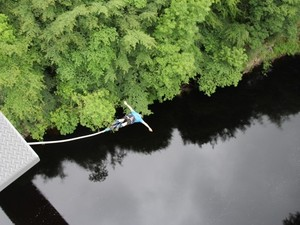 Brave prize: Bungee jumping