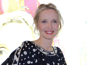 French Director and Actress Julie Delpy attends at the Premiere of &quot;2 Days in New York&quot; at the MK2 Paris movie cinema in Paris