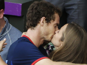 Andy Murray, Kim Sears, Men's Singles, london 2012