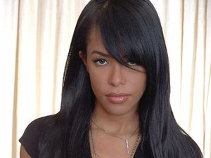 R&B singer Aaliyah photographed on May 9, 2001