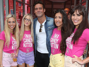 Made in Chelsea's Spencer Matthews at the Candy Kittens launch party at Raffles
