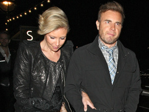 Gary Barlow and Dawn Barlow at the Brit Awards 2011
