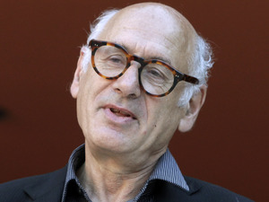 British composer and pianist Michael Nyman