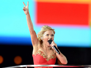 London 2012 Olympics Closing Ceremony: Geri Halliwell