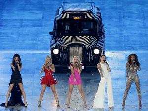 London 2012 Olympics Closing Ceremony: Spice Girls