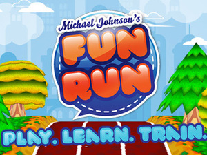 Michael Johnson&#39;s Fun Run app screenshot