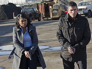 Taraji P Henson as Detective Carter in &#39;Person Of Interest&#39;