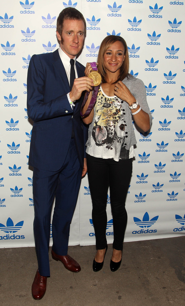 Bradley Wiggins, Jessica Ennis, Adidas Underground, London 2012