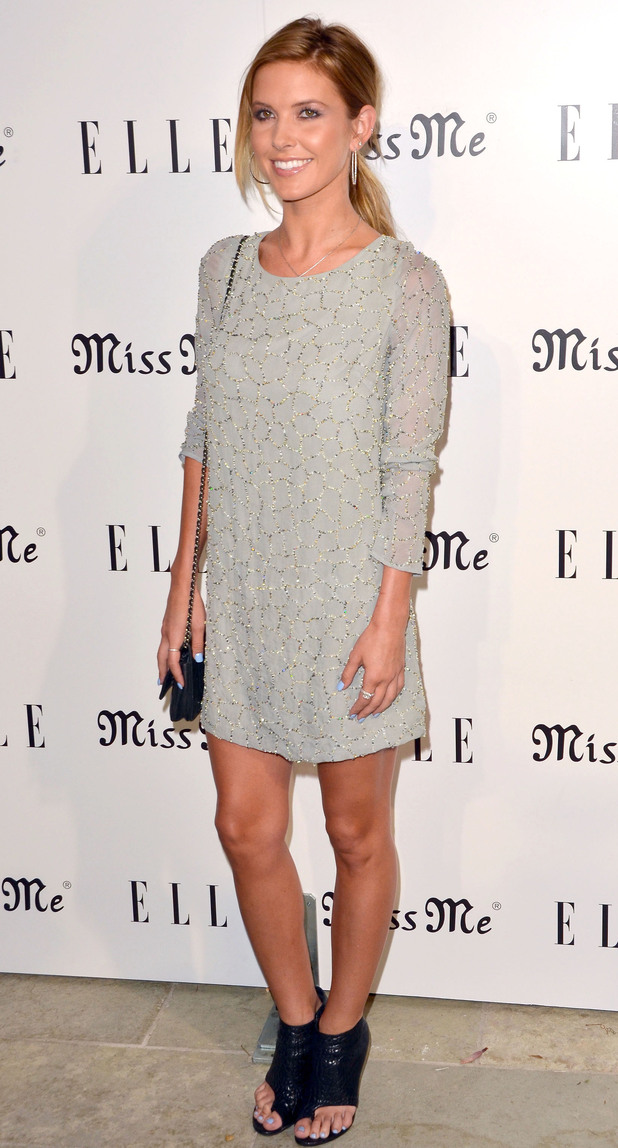 Audrina Patridge attends the Songbirds' <em>Miss Me</em> album release party.