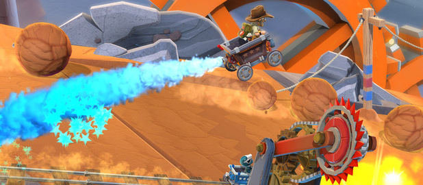 New screenshots of Hello Games' platforming-racer Joe Danger 2: The Movie