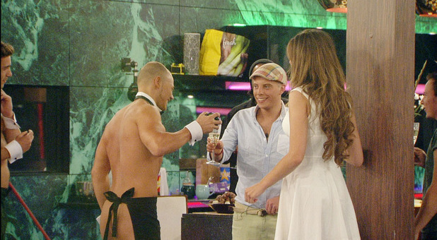Big Brother 2012 - Day 63: Scott and a butler