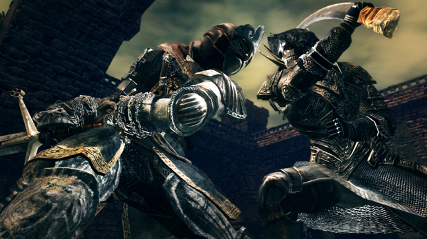 Images of the new Artorias of the Abyss DLC that comes with Dark Souls: Prepare to Die.