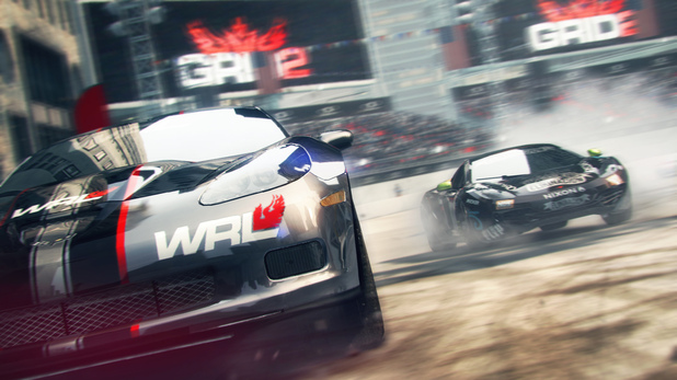 Screenshot from the GRID 2 game
