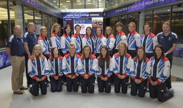 Team GB women's hockey team