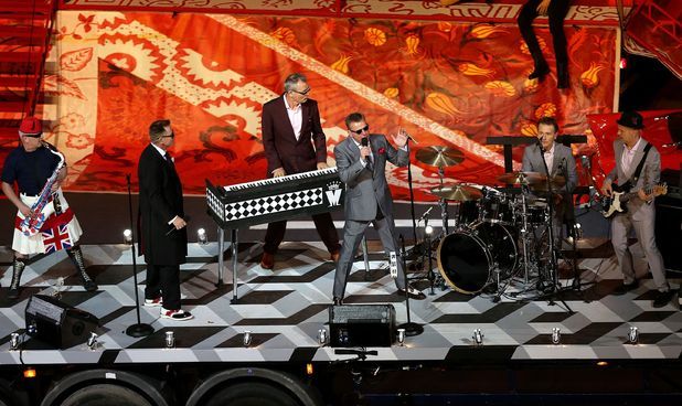 London 2012 Olympics Closing Ceremony: Madness