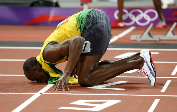 Usain Bolt, men's 200m victory