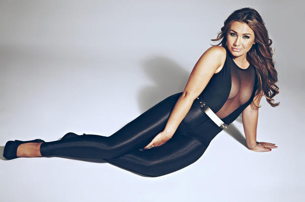 Lauren Goodger poses for Closer magazine