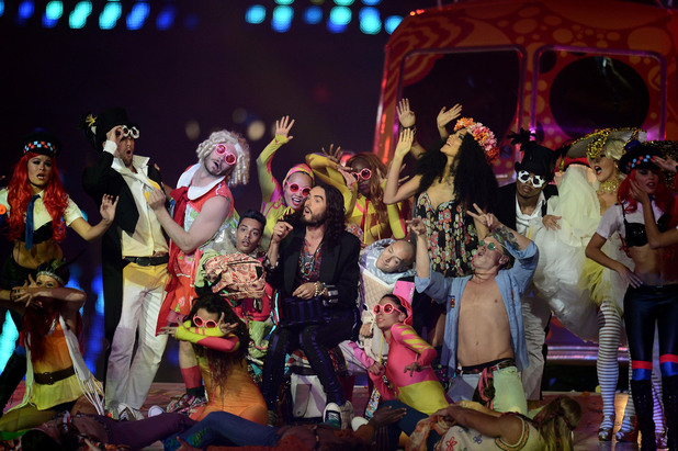 London 2012 Olympics Closing Ceremony: Russell Brand