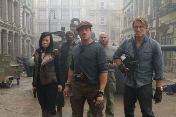 The Expendables 2, Sylvester Stallone, Dolph Lundgren
