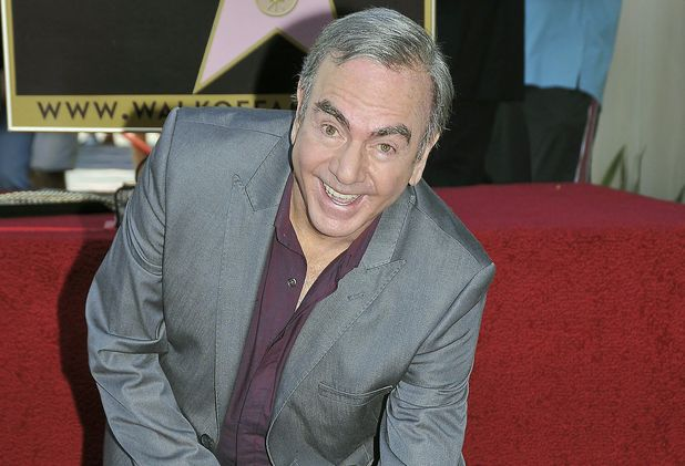 Neil Diamond is honoured With A Star On The Hollywood Walk Of Fame.