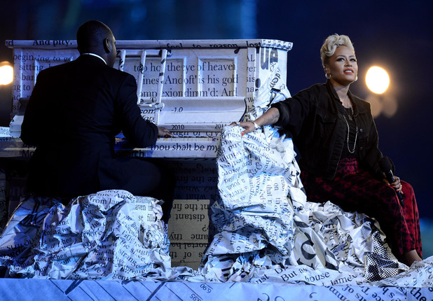 London 2012 Olympics Closing Ceremony: Emeli Sande