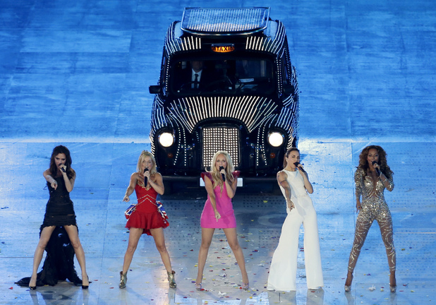 London 2012 Olympics Closing Ceremony: Spice Girls