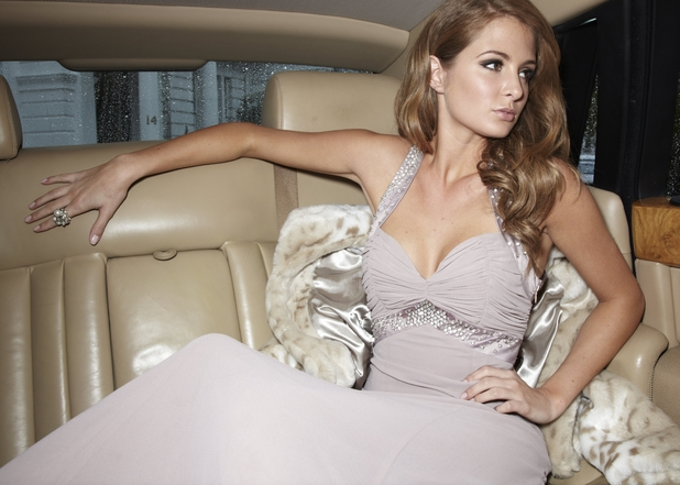 Millie Mackintosh models for Lipsy