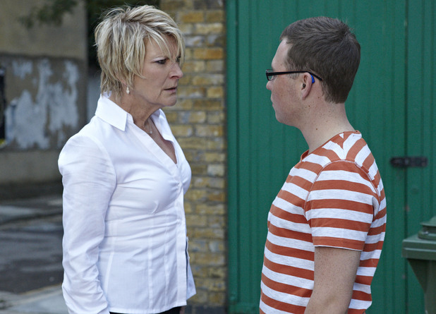Shirley tells Ben that she thinks Phil murdered Heather.