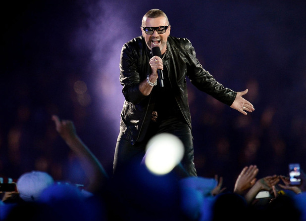 London 2012 Olympics Closing Ceremony: George Michael