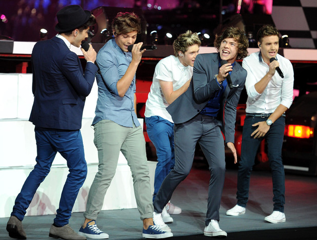 London 2012 Olympics Closing Ceremony: One Direction