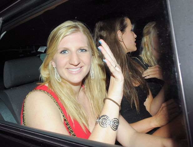 Rebecca Adlington, Speedo Red event at the Kensington Roof Garden