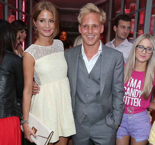 Made in Chelsea's Jamie Laing, Millie Mackintosh at the Candy Kittens launch party at Raffles