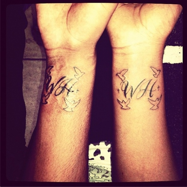 Bobbi Kristina Brown gets a tattoo in tribute to her mother Whitney Houston