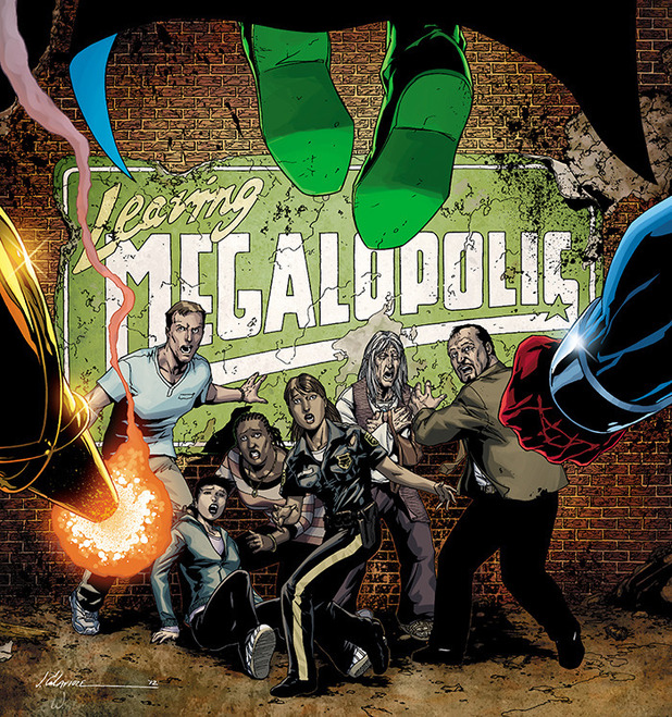'Leaving Megalopolis' artwork