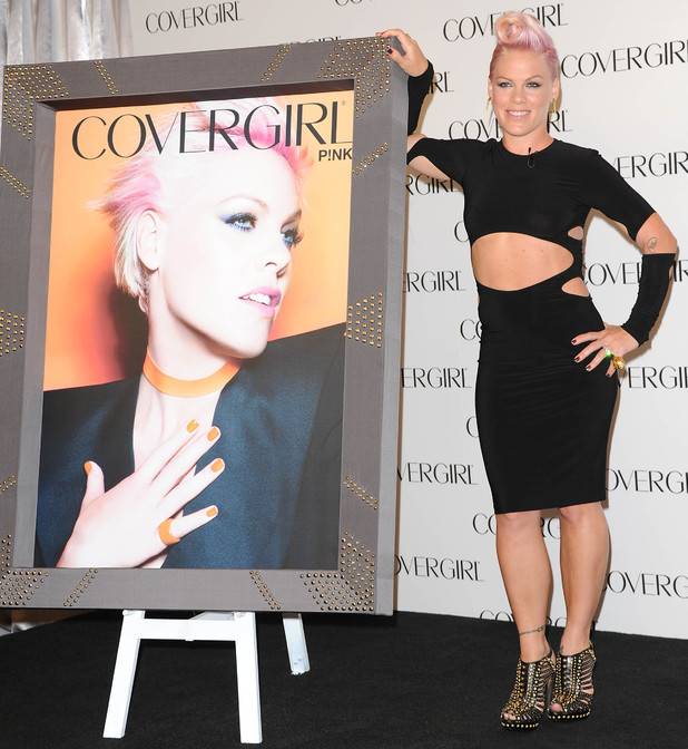 Pink unveiled as face of Covergirl, Los Angeles, America - 06 Aug 2012