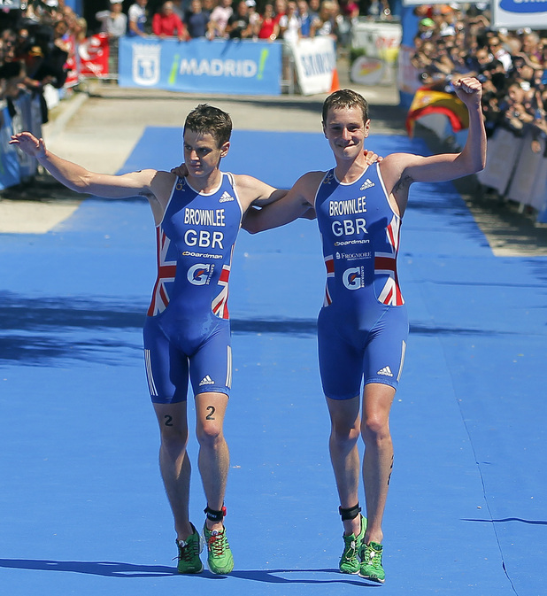 Jonathan and Alistair Brownlee, Team GB, triathlon