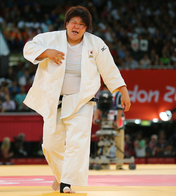 Japanese judo wrestler Mika Sugimoto, London 2012