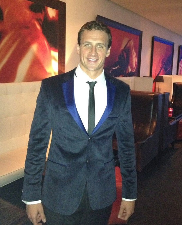 Ryan Lochte, US swimmer, London 2012