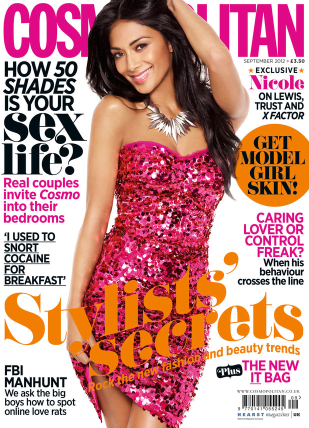 Cosmopolitan September with Nicole Scherzinger