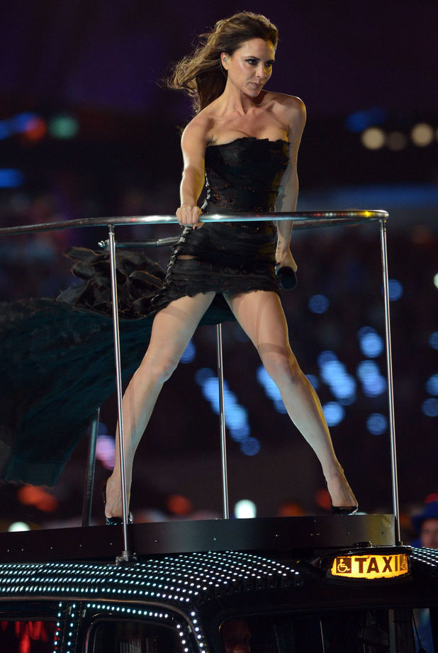 London 2012 Olympics Closing Ceremony: Victoria Beckham