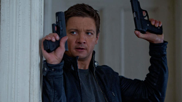Jeremy Renner steps into Matt Damon's shoes for The Bourne Legacy.