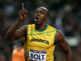 Usain Bolt, London 2012