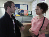 Tommy heads to the maternity ward to find Kirsty and tells her how lost Tryone has felt since she left